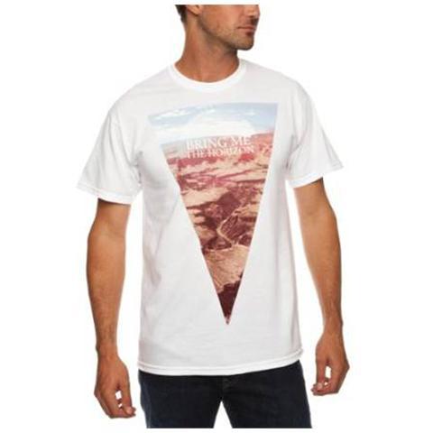 ROCK OFF Bring Me The Horizon - Canyon White (T-Shirt Unisex Tg. L)