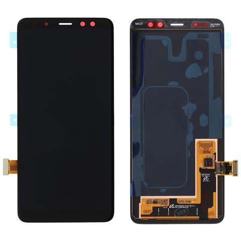 Image of Lcd Touch Display Schermo Nero Ricambio Originale Per Samsung Galaxy A8 2018 Sm-a530