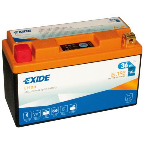 Exelt9b Batteria 12v Bike Li-ion Lifepo4 36 Wh 190 A