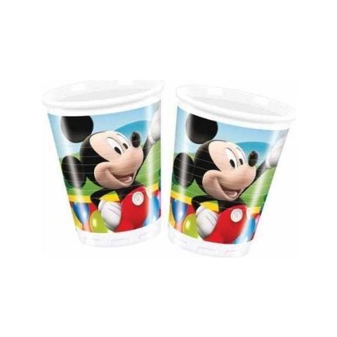 Casa Di Topolino (la) - 10 Bicchieri Di Plastica