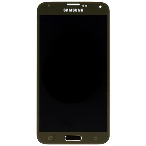 Image of Display Lcd + Touch Screen Schermo Originale Samsung Galaxy S5 Sm-g900f Gold Oro