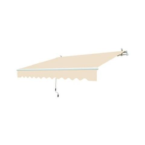 Tenda Da Sole Beige A Barra Quadra 250 X 200 Centimetri