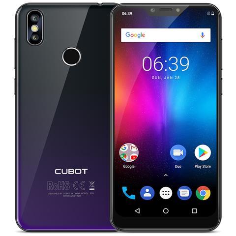Image of P20 Aurora Nero 4g Smartphone 64gb 4gb Ram 6.18 '''' Android 8.0 4000mah Octa Core Mtk6750t Doppia Sim