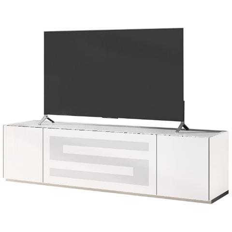 "MUNARI Mobile Porta per TV fino a 70"" Rainbow RA 175 Bianco – Bianco"