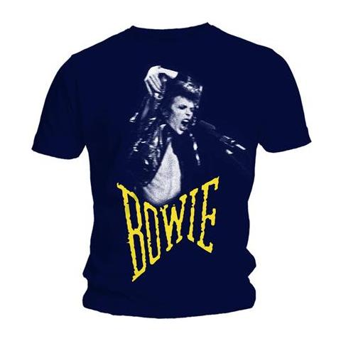 ROCK OFF David Bowie - Scream (T-Shirt Unisex Tg. S)
