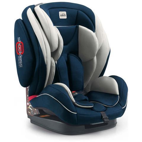 Image of Seggiolino Auto Gruppo 1-2-3 Colore Blu