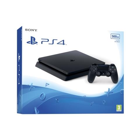 Image of Console Playstation 4 500 Gb Slim E Chassis Nero