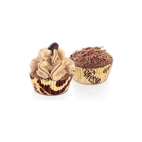 Tescoma Set 60 pirottini in carta caffe' 6cm delicia