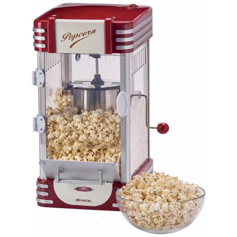 Popcorn Popper XL Potenza 310 Watt Colore Rosso