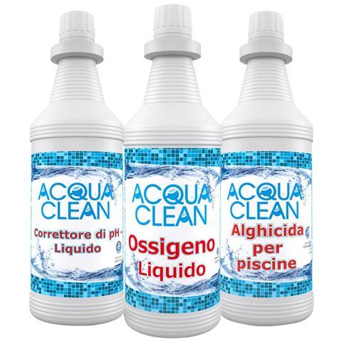 Cloro In Pastiglie 200 Gr Acqua Clean Per Piscine 10 Kg Lenta Dissoluzione