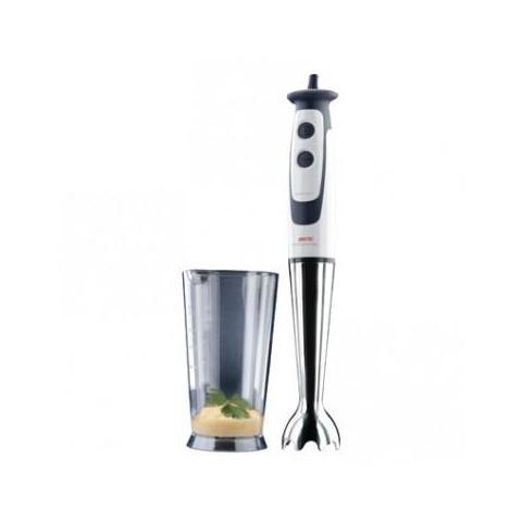 HB 1000 Frullatore ad Immersione Bicchiere da 0,6 Litri Potenza Colore Bianco Grigio