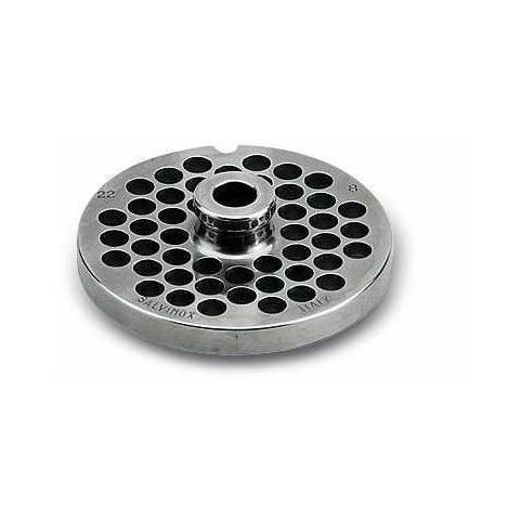 4312A1 Piastra Tritacarne a 12 fori dal diametro di 4,5 mm