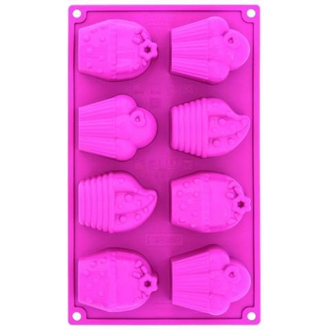 Stampo In Silicone Multiporzione Happy Birthday 6 Impronte Pavoni