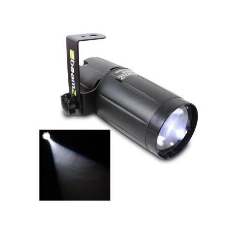 BEAMZ LIGHT Proiettore / riflettore Luce Stretta Par Pin-spot A Led 6w Luce Bianca Art. 151263