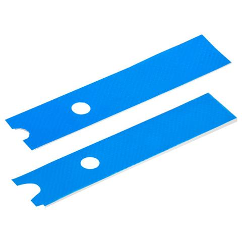 SILVERSTONE Kit 2 PAD Termici Compatibile con SSD M. 2