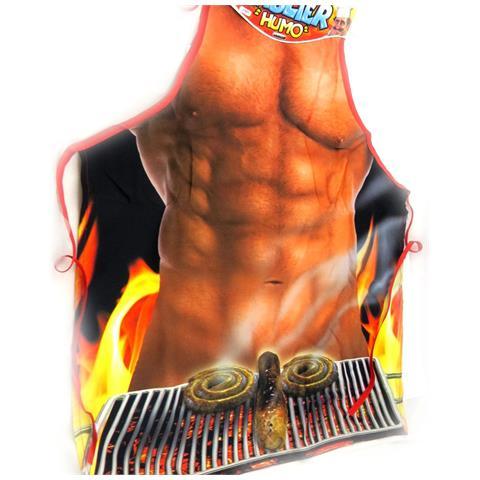 Grembiule Umorismo 'homme Barbecue' - [ l1477]
