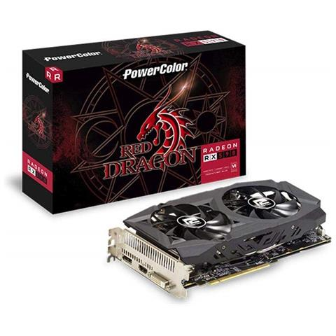 Image of Scheda Video Radeon Red Dragon RX 590 8 GB DVI / HDMI / DisplayPort