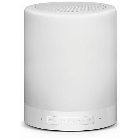 CONCEPTRONIC Speaker a Lampada Wireless Bluetooth CSPKBTTL Colore Bianco