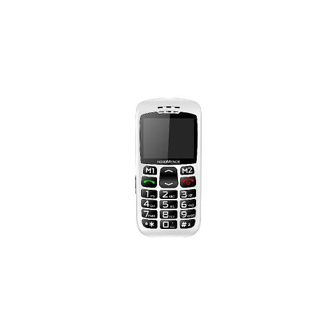"Nordmende Big200s Senior Phone Display 2.2"" Tasti Grandi Colore Bianco"