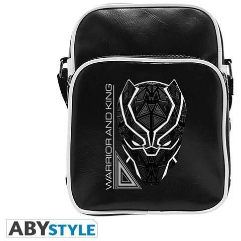 ABYSTYLE Black Panther Borsa A Tracolla Per Adulti, S, Abybag295