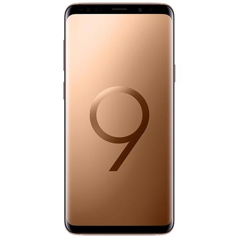 Image of Galaxy S9+ Oro Display 6.2'' Quad HD Octa Core Ram 6GB Storage 64GB +Slot MicroSD Wi-Fi + 4G Fotocamera 12Mpx Android - Tim Italia