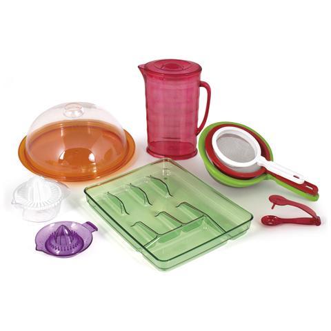 HOME Portaposate Ps 5ps Colori Assortiti Organizzazione Della Cucina