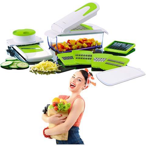 Tagliaverdure 7in1 Frutta Trita Affetta Casa Cucina Verdure Taglia Tutto Ly 608