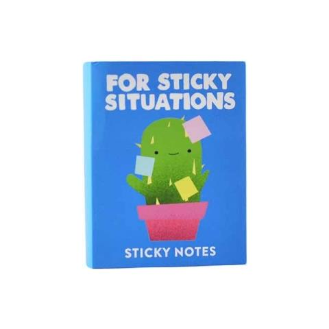HALF MOON BAY Jolly Awesome - Sticky Situations (blocchetto Fogli Adesivi)