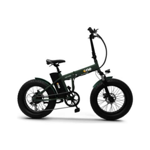 Bici Elettrica One Nitro 250w Green
