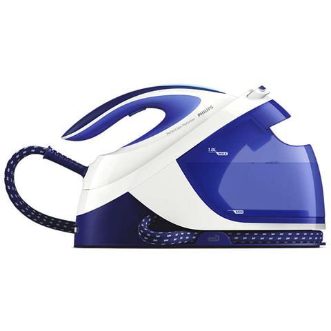 PHILIPS GC8711/20 Ferro da Stiro con Generatore di Vapore Potenza 2600 W Colore Blu e Bianco