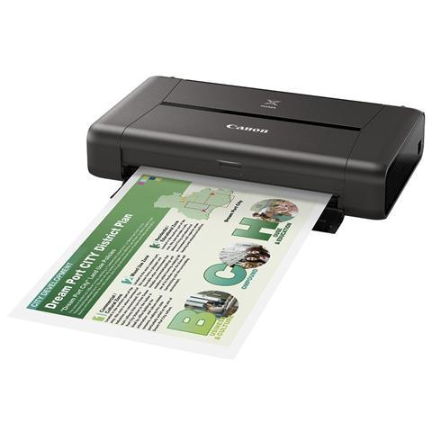 Image of Pixma iP110 Stampante Inkjet a Colori A4 9 Ppm (B / N) 5.8 Ppm (Colore) Usb Wi-Fi