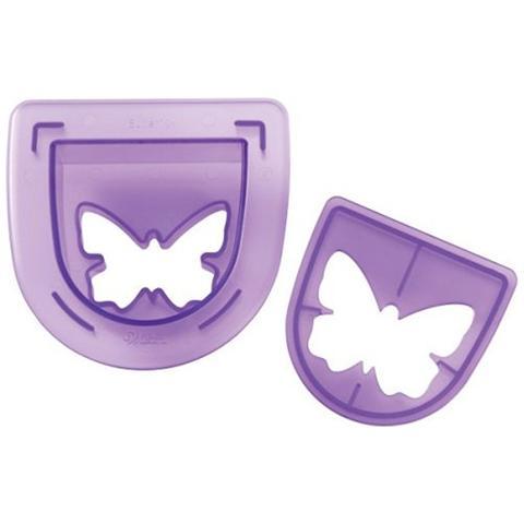 WILTON Set Ricambio Per Timbrataglia Forma Farfalla Cake Design