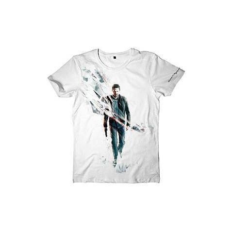 BIOWORLD Quantum Break - Break Box Art (T-Shirt Unisex Tg. L)