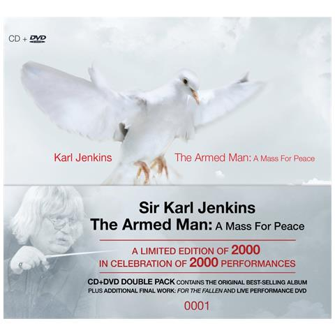 WARNER BROS Karl Jenkins - The Armed Man (2000Th Performance Limited Edition) (Cd+Dvd)
