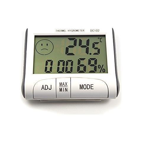 Termometro Igrometro Digitale Temperatura Umidita' Casa Box Garage