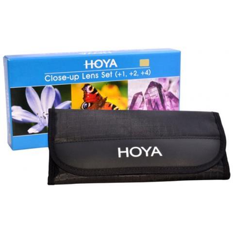 Close-up Set (+1, +2, +4) 62mm Hoy Cush62
