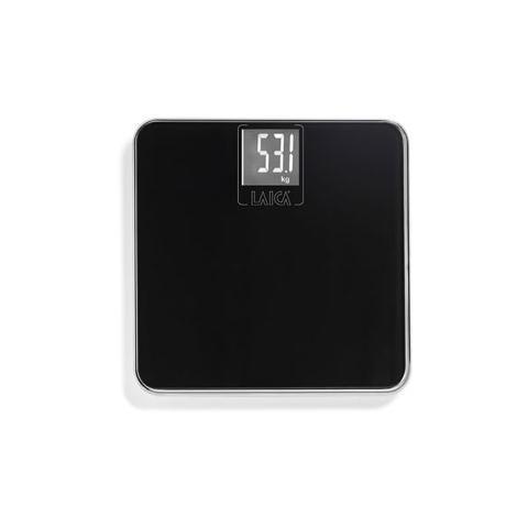 LAICA PS1028 Bilancia Pesapersone Elettronica Portata 180 Kg Colore Nero