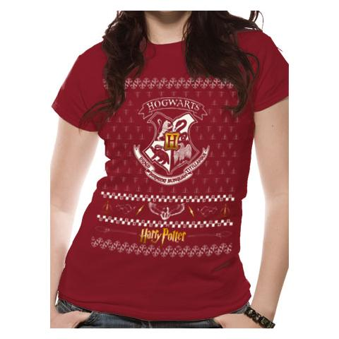 CID Harry Potter - Xmas Crest (T-Shirt Unisex Tg. S)
