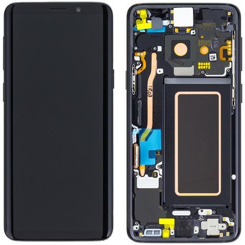Image of Ricambio Lcd Display Schermo Screen Touch Nero Samsung Galaxy S9