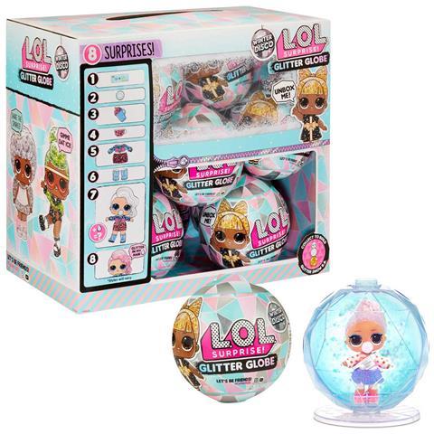 PLAYMATES Giochi Preziosi - Glitter Globe Lol Surprise Llu89/98/9900 Assortito