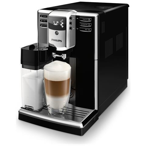 Macchina da Caffè Espresso Automatica Serie 5000 Serbatoio 1.8 L Colore Nero