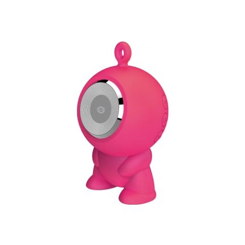 CONCEPTRONIC Altoparlante Speaker a ventosa Waterproof Bluetooth - Rosa