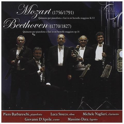 WIDE CLASSIQUE Quintetti Pianoforte E Fiati - Mozart K452 / Beethoven 16