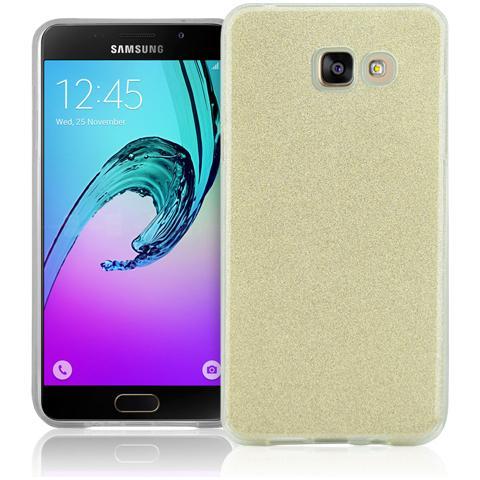 FONEX Chic Soft Cover in Morbido TPU con 3 Card Glitterate per Samsung Galaxy A5 (6)