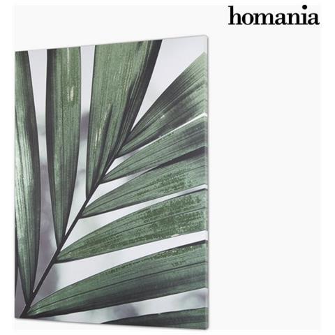 Homania Foglie Su Tela By