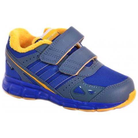 Adidas Whyperfast Cf I Scarpe Bambino Blu Pelle Tela Strappi M20434 21
