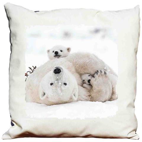 Cuscino Decorativo Orso Polare