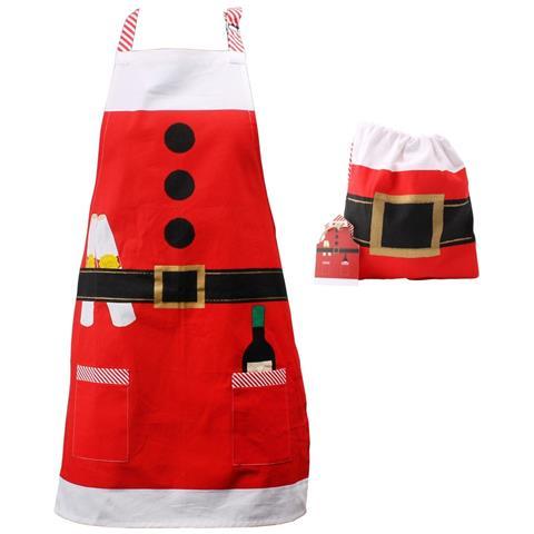 Grembiule Da Babbo Natale Adulti / unisex (tagli Unica) (babbo Natale)