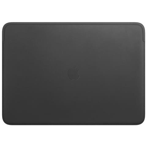 Custodia in Pelle per MacBook Pro 16'' Colore Nero