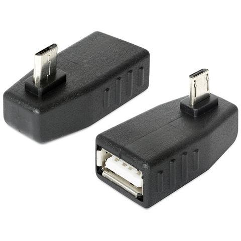 DeLOCK 65473 micro USB USB 2.0 Nero cavo di interfaccia e adattatore